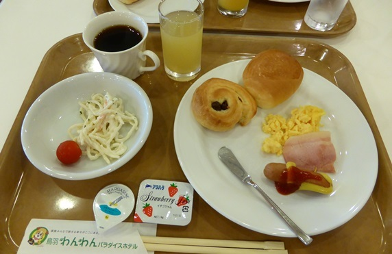 わんパラ朝食.JPG